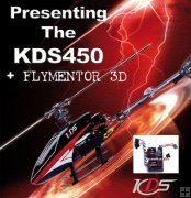 KDS450S 2.4Ghz 6CH RTF With Flymentor 3D